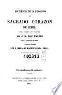 Escelencia de la devocion al Sagrado Corazon de Jesus