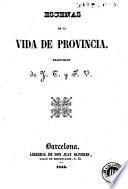 Escenas de la vida de provincia