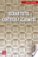 Escribir textos científicos y acádemicos
