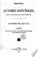 Escritores del siglo 16