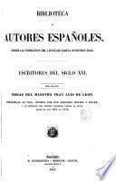 Escritores del siglo XVI....