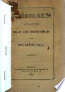 Escritores ilustres madrileños