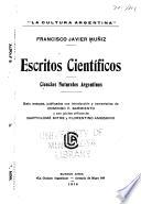 Escritos científicos