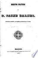 Escritos politicos de D. Jaime Balmes