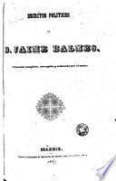 Escritos políticos de Jaime Balmes