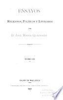 Escritos políticos; segundo periodo, 1850-1856