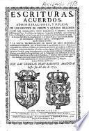 Escrituras, acuerdos, administraciones, y suplicas de los servicios de veinte y quatro millones, ocho mil soldados, dos millones y medio, nueve millones de Plata, un millon de quiebras, impuesto de la Passa... y la nueva prorogacion de ellos de este sexsenio, aceptada por su Magestad, por su Real Cedula de 14 de Junio de 1716... con las cedulas nuevamente añadidas hasta fin del año de 1733