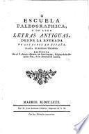 Escuela paleographica
