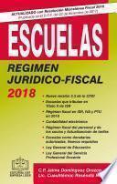 ESCUELAS RÉGIMEN JURÍDICO-FISCAL EPUB 2018