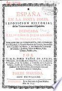 España en la Santa Biblia