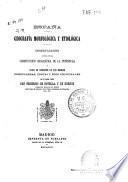 España geografía morfológica y etiológica