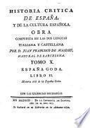 España Goda ; Libro II: Historia civil de la España Goda