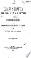 España y francia en el siglo XVIII