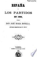 España y los partidos en 1869