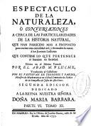 Espectaculo de la naturaleza ó Conversaciones acerca de las particularidades de la historia natural ...