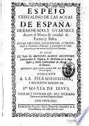 Espejo cristalino de las aguas de España