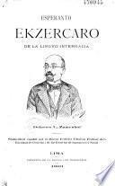 Esperanto. Ekzercaro de la linguo internacia