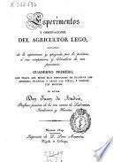 Esperimentos y observaciones del agricultor lego...
