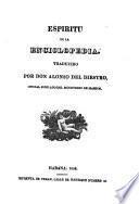 Espiritu de la Enciclopedia