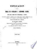 Esplicación de las tablas de navegación y astronomía náutica de Don José de Mendoza y Rios