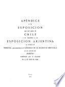 Esposición que por parte de Chile i en respuesta a la Esposición arjentina se somete al Tribunal que constituyó el gobierno de Su Majestad británica en su carácter de árbitro nombrado por el acuerdo de 17 de abril de 1896