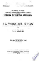 estacion experimental agronomica la yerba del sudan