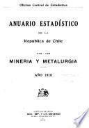 Estadística anual de la república de Chile, comercio exterior