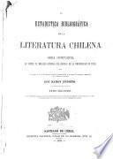 Estadística bibliográfica de la literatura chilena