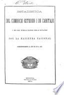 Estadistica del comercio esterior i de cabotaje