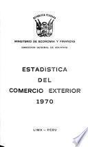 Estadística del comercio exterior