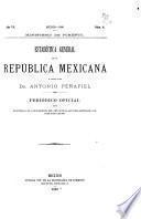 Estadística general de la República mexicana
