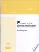 Estadísticas del medio ambiente en América Latina y el Caribe