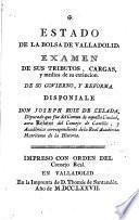 Estado de la bolsa de Valladolid
