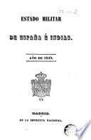 Estado militar de España e Indias