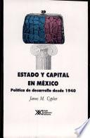 Estado y capital en México