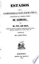 Estados de la Confederación Jermánica [sic]