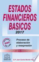 ESTADOS FINANCIEROS BÁSICOS 2017