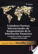 Estándares - Normas Internacionales de Aseguramiento de la Información Financiera
