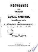 Estatutos de la Congregación de la Caridad Cristiana