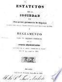 Estatutos de la Sociedad de Educacion Primaria de Bogotá, etc