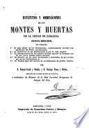 Estatutos y ordinaciones de los montes y huertas de la ciudad de Zaragoza