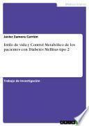 Estilo de vida y Control Metabólico de los pacientes con Diabetes Mellitus tipo 2