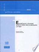 Estratificación y movilidad social en Chile