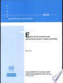 Estructura ocupacional, estructura social y clases sociales