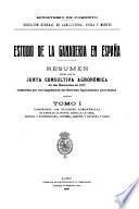 Estudio de la ganaderia en España