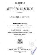 Estudio de los autores clásicos