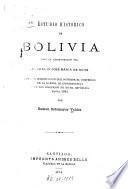 Estudio historico de Bolivia bajo la administracion del jeneral D. José Maria de Achá