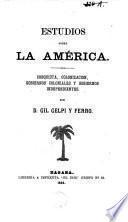 Estudio sobre la America
