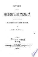 Estudio sobre la geografía de Tarapacá