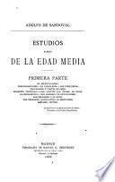 Estudios acerca de la Edad Media